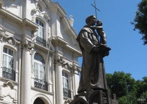 statue of Saint Anthony in Lisbon