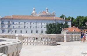 terrace of the national pantheon in Lisbon