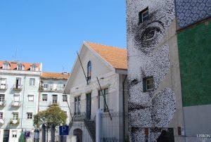 Portuguese street art in Lisbon